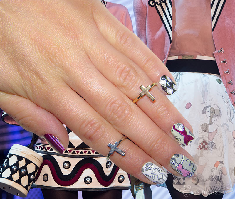 Fall 2015 Runway Inspired Nail Art Designs: Olympia Le Tan