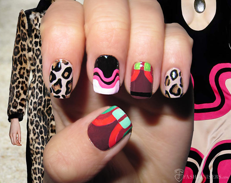 Fall 2015 Runway Inspired Nail Art Designs: Tom Ford
