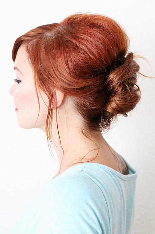 10 Hot Weather Hairstyles: French Twist