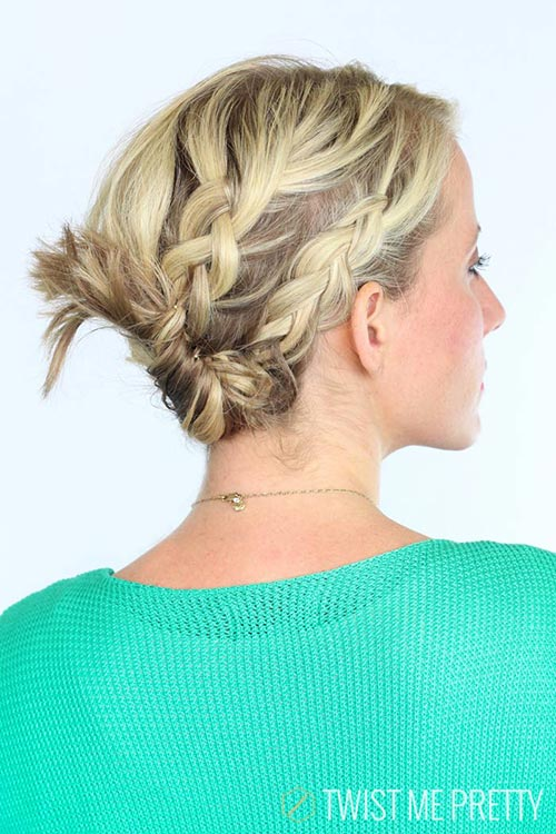 10 Hot Weather Hairstyles: Double Braided Twist
