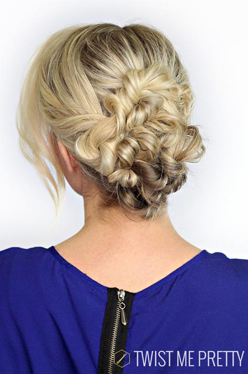 10 Hot Weather Hairstyles: Twisted Updo