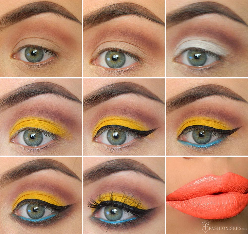 1980s Inspired Makeup Tutorial