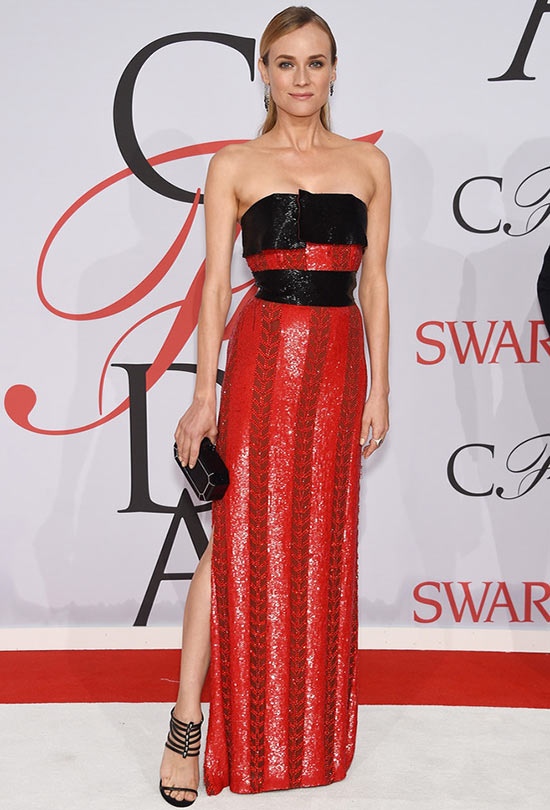 2015 CFDA Awards Red Carpet Fashion: Diane Kruger