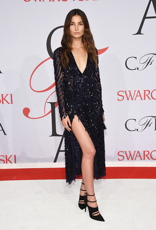 2015 CFDA Awards Red Carpet Fashion: Lily Aldridge