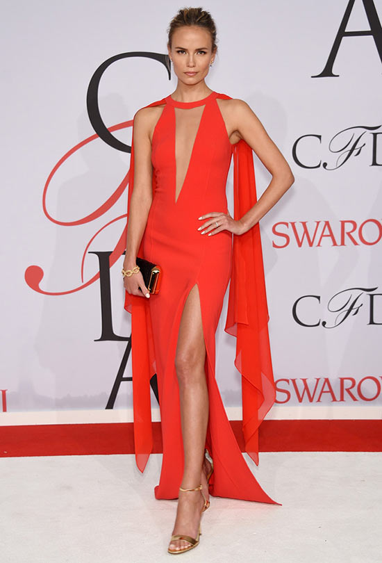 2015 CFDA Awards Red Carpet Fashion: Natasha Poly