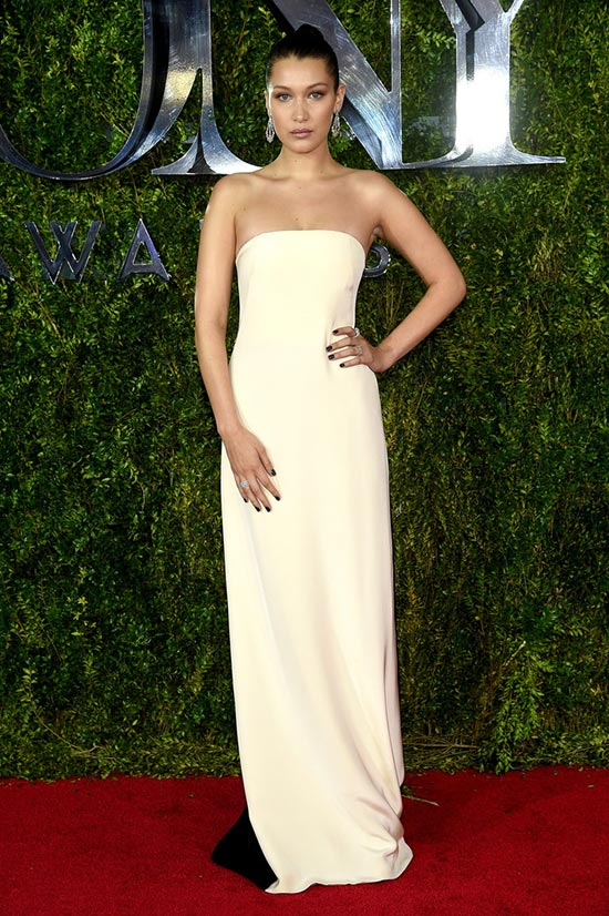 Tony Awards 2015 Red Carpet Fashion: Bella Hadid