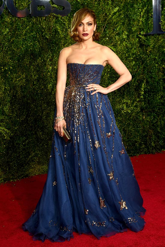 Tony Awards 2015 Red Carpet Fashion: Jennifer Lopez
