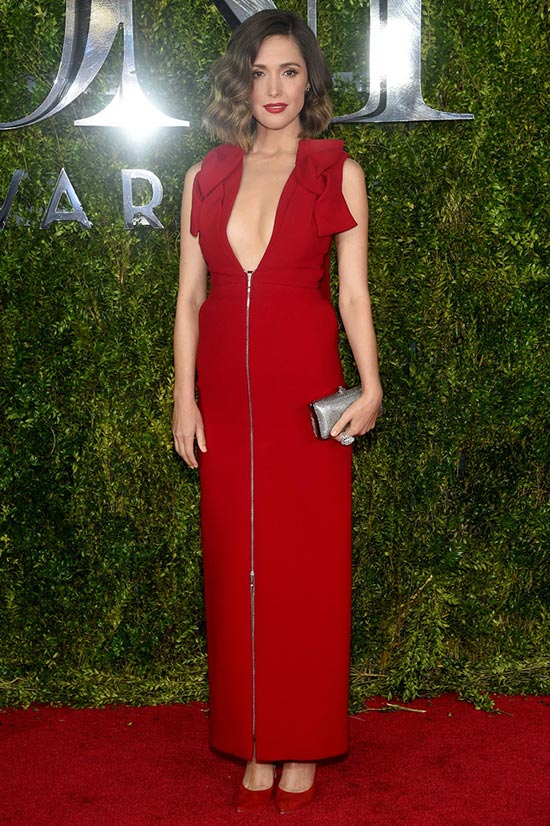 Tony Awards 2015 Red Carpet Fashion: Rose Byrne