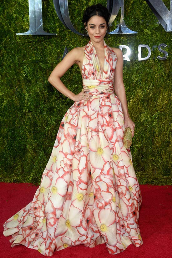 Tony Awards 2015 Red Carpet Fashion: Vanessa Hudgens