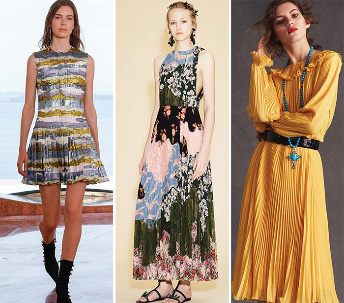 Best Resort 2016 Fashion Trends: Pleats