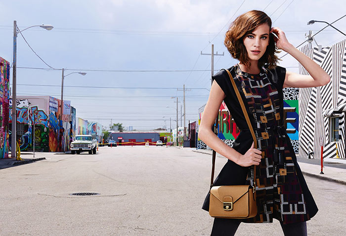 Alexa Chung Is Again Longchamp's Face For Fall 2015