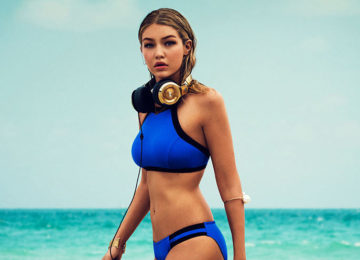 Gigi Hadid Is Back with Seafolly for 2016 Now!