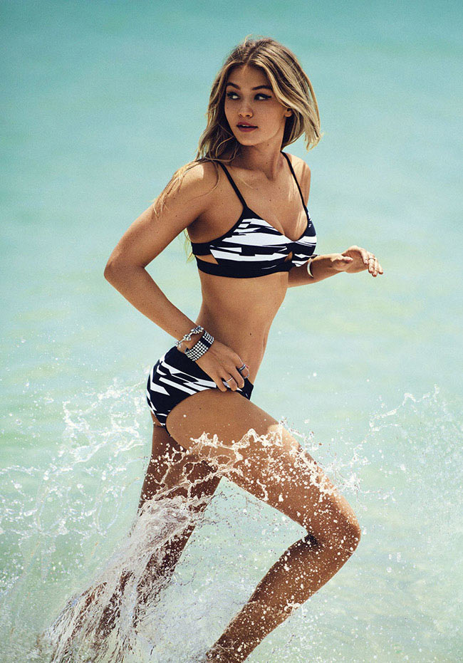 Gigi Hadid Is Back with Seafolly for 2016 Now