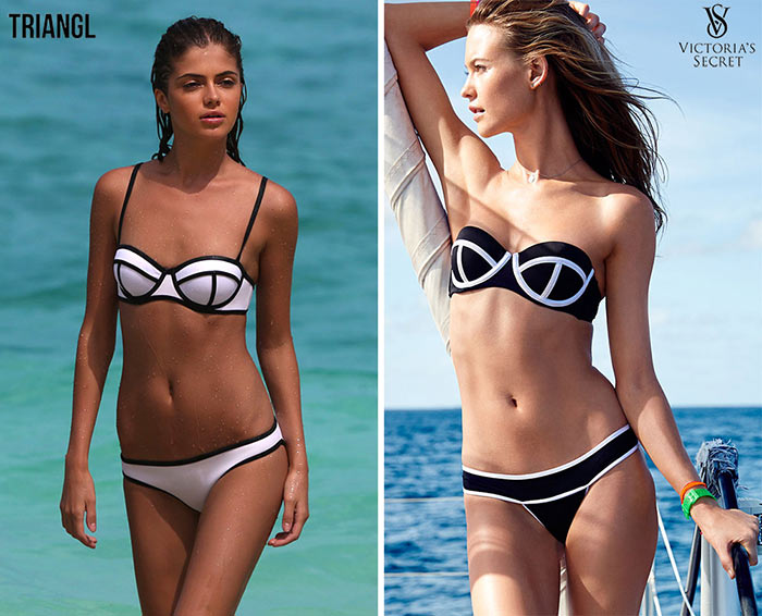 Victoria's Secret Copying Triangl Swimsuits