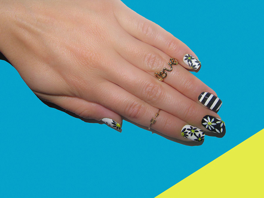 Flower Nail Art Designs For Any Taste