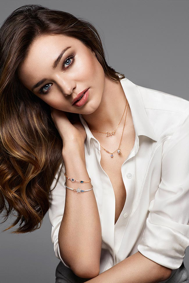 Miranda Kerr Creates A Capsule Collection For Swarovski Fashionisers