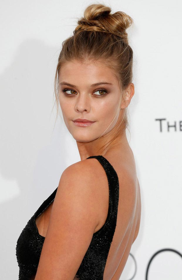 wedding guest hairstyles for summer, Nina Agdal