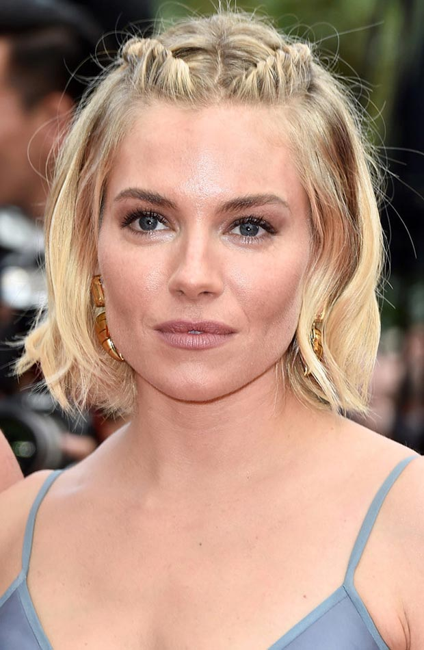 wedding guest hairstyles for summer, Sienna Miller