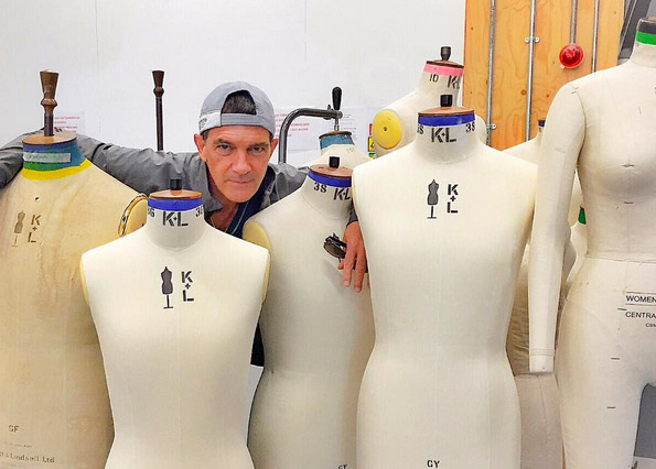 Antonio Banderas Tries His Hand at Fashion Design