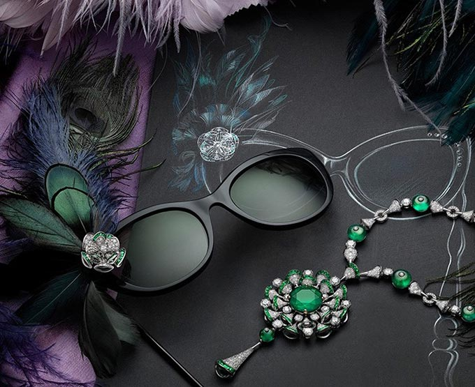 Bvlgari Jewelry Sunglasses 2015