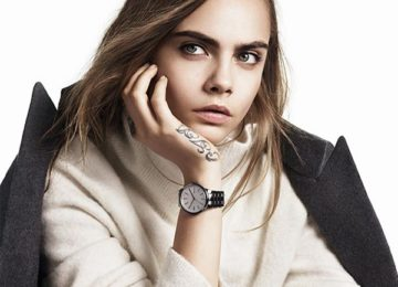 Cara Delevingne Is Back On Set With DKNY