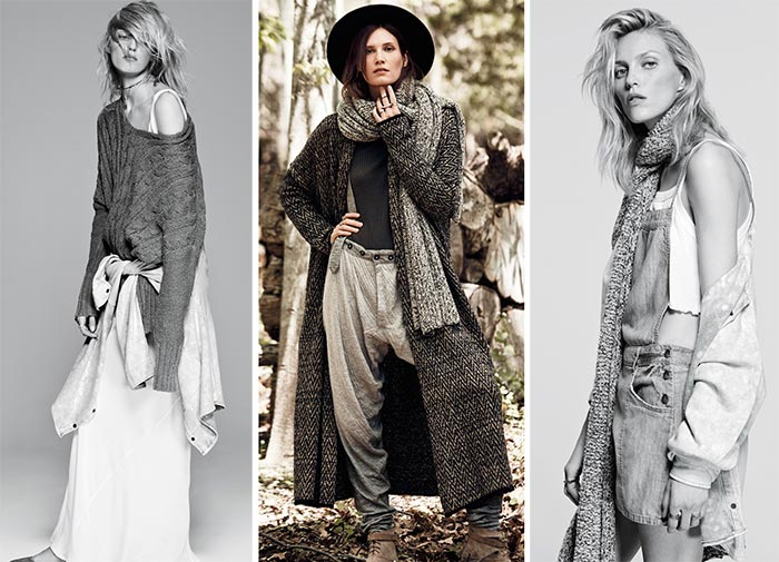 The Modern Boho in Free People's August 2015 Catalogue