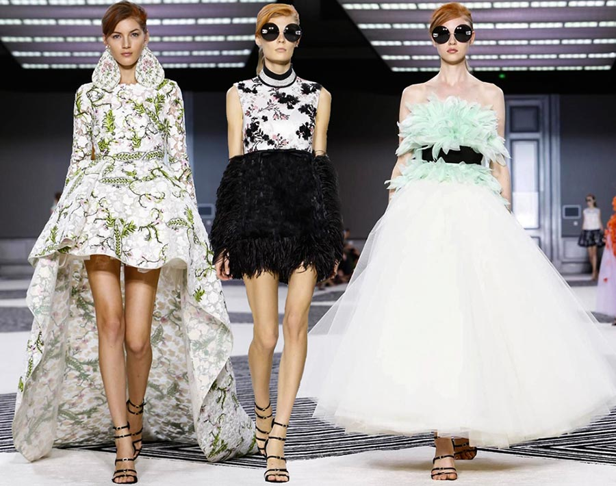 Giambattista Valli Couture Fall/Winter 2015-2016 Collection