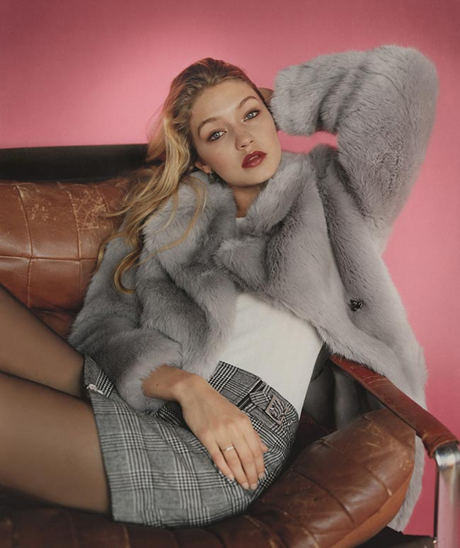 Gigi Hadid for Topshop Fall 2015 Campaign
