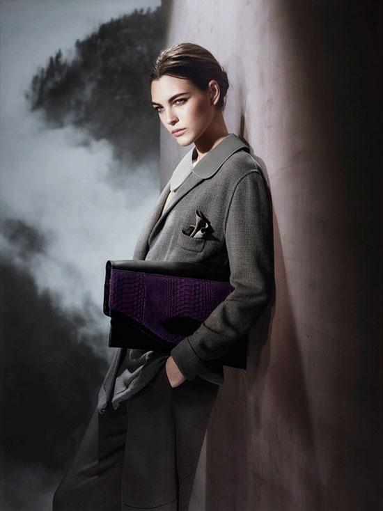 Vittoria Ceretti for Giorgio Armani Fall 2015 Campaign