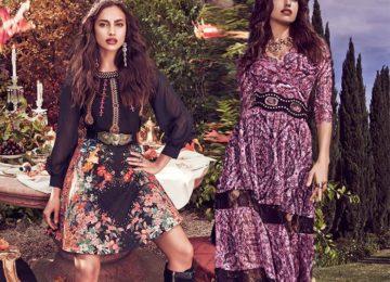 Bebe Gets Bohemian with Irina Shayk for Fall 2015
