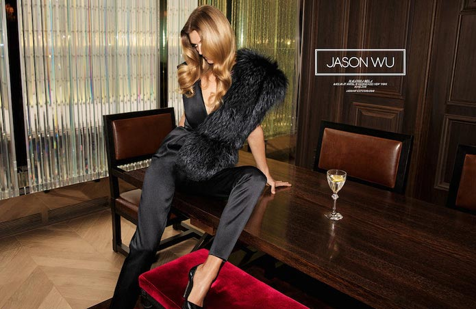 Malgosia Bela for Jason Wu Fall 2015 Campaign