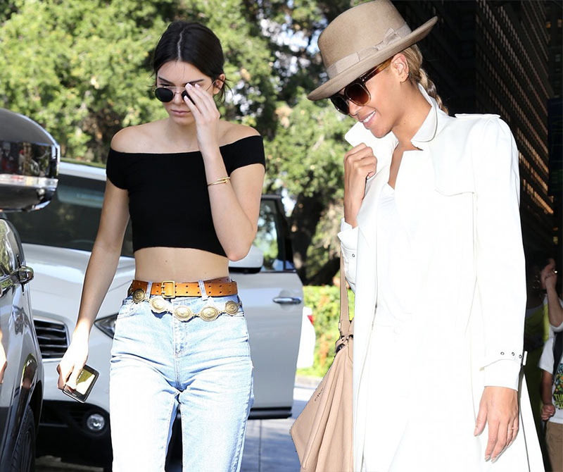 Kendall Jenner and Beyonce Launching Thigh-High Boots Line?