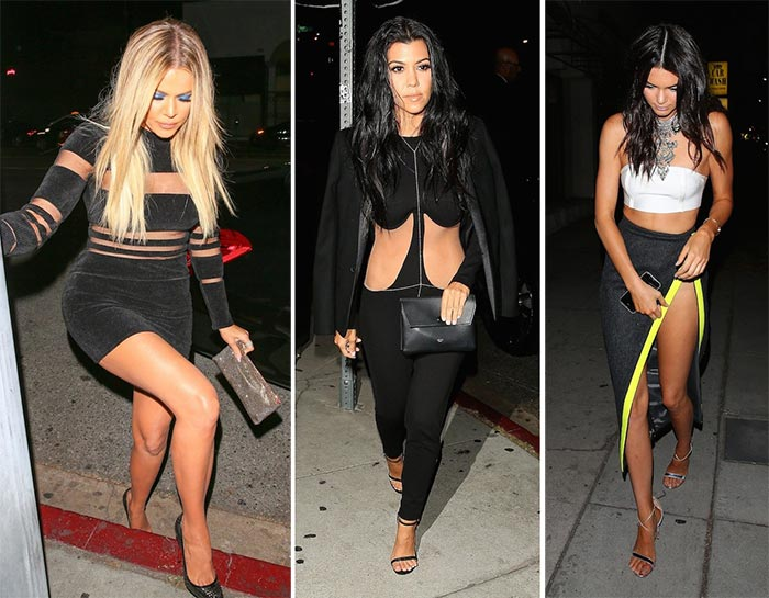 Kylie Jenner 18th Birthday Party: Khloe, Kourtney, Kendall