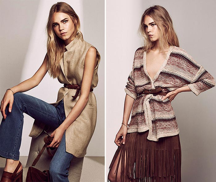 Massimo Dutti Pre-Fall 2015 Collection