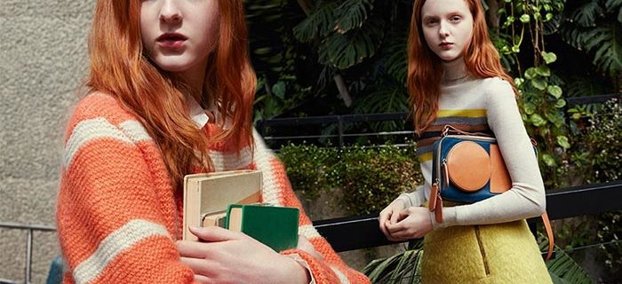 Madison Stubbington Stars In Orla Kiely's Fall 2015 Campaign