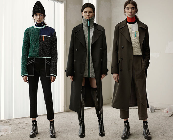 T By Alexander Wang Fall 2015 Collection