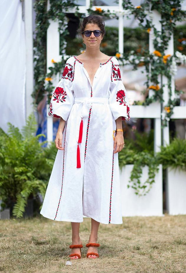 Ukrainian Embroidery Trend: Vyshyvanka Dress Vita Kin
