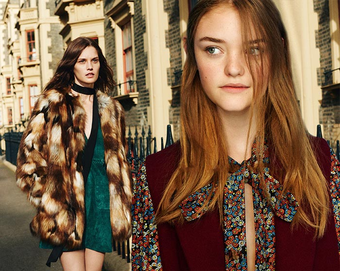 Zara TRF Fall/Winter 2015-2016 Campaign