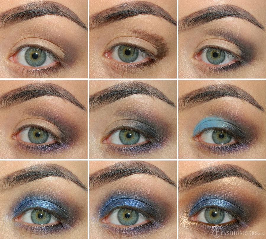 Bombshell Blue Smoky Eye Makeup Tutorial   Fashionisers