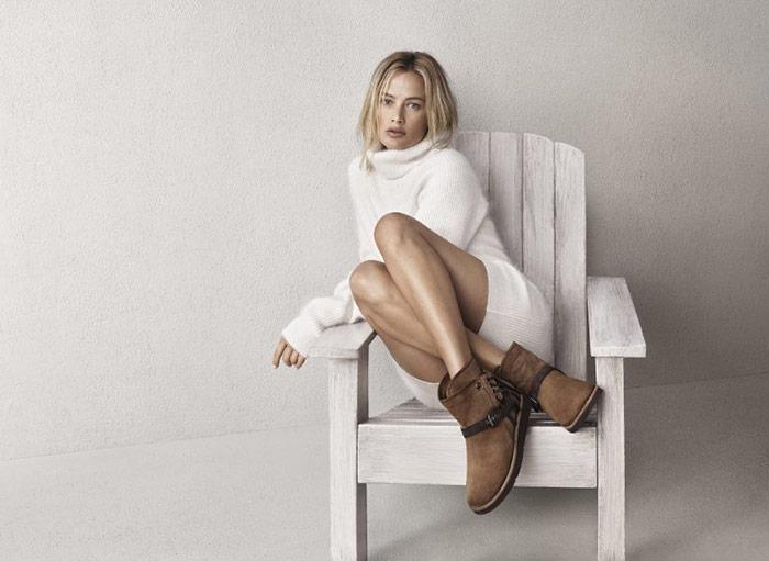Carolyn Murphy for UGG Boots Fall 2015