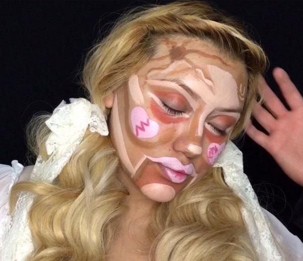 Clown Contouring Beauty Trend
