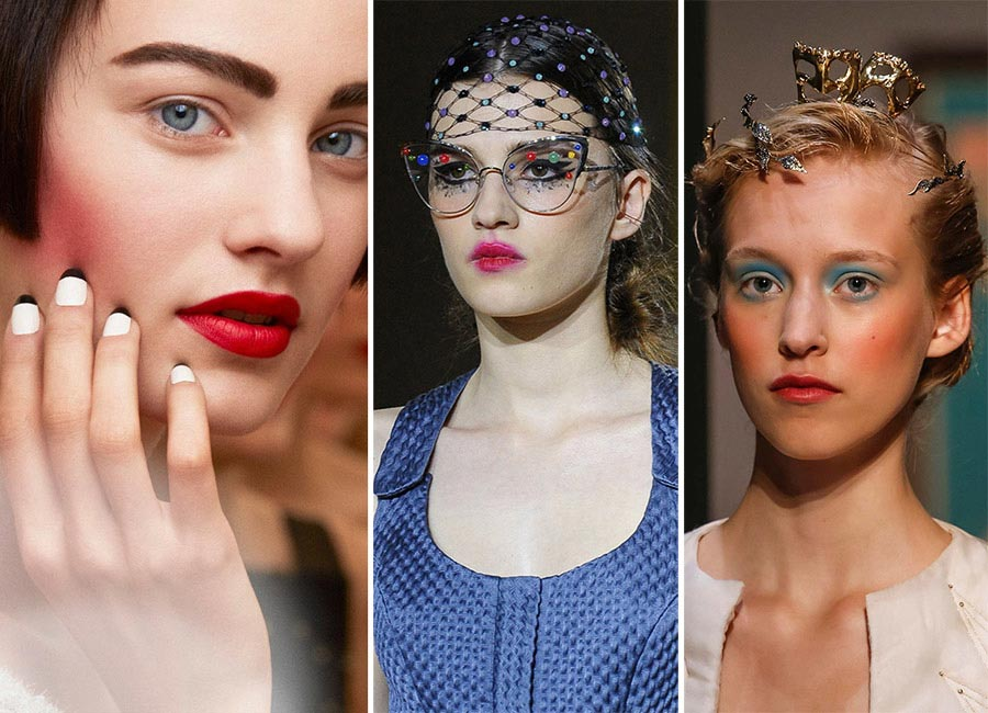 Fall 2015 Couture Beauty Trends: Blush