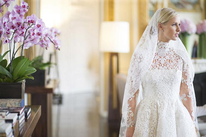Nicki Hilton's Wedding Dress From Valentino Is Pure Magic!