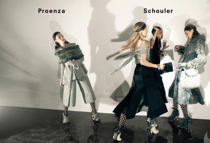 Proenza Schouler Fall 2015 Campaign
