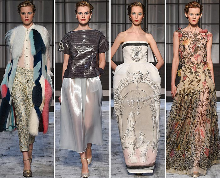 Schiaparelli Couture Fall/Winter 2015-2016 Collection