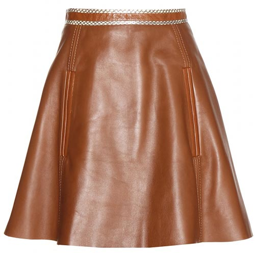 Pretty Summer 2015 Mini Skirts: Acne Studios Leather Mini Skirt
