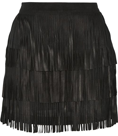 Pretty Summer 2015 Mini Skirts: Alice + Olivia Fringed Mini Skirt