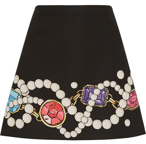 Pretty Summer 2015 Mini Skirts: Moschino Mini Skirt
