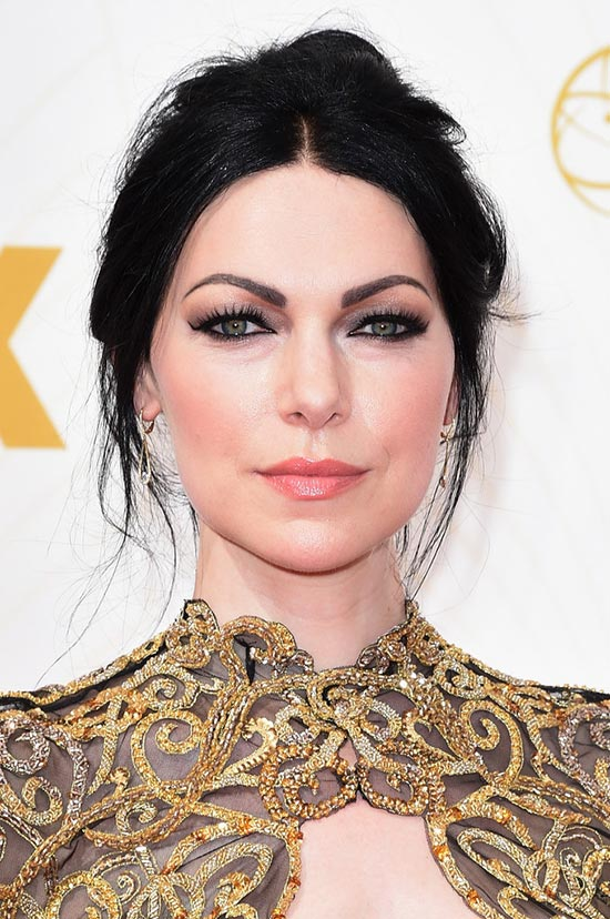 Emmy Awards 2015 Celebrity Hairstyles and Beauty: Laura Prepon