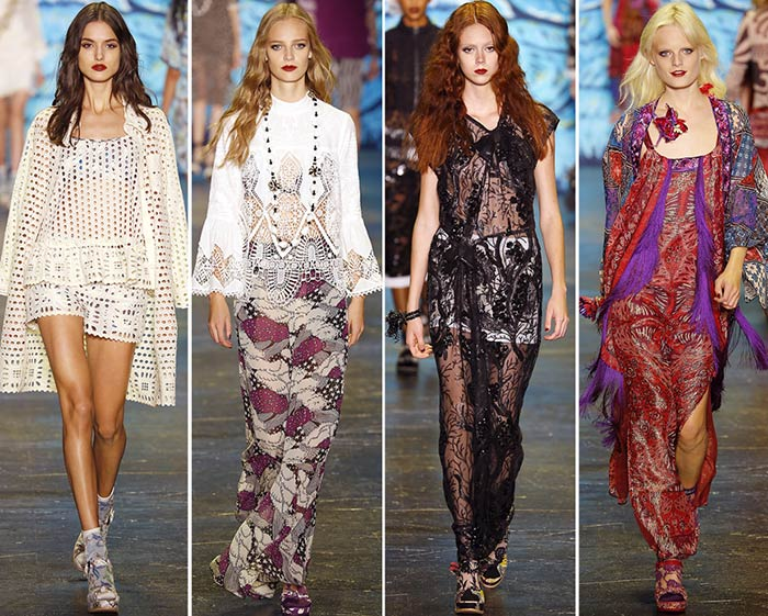 Anna Sui Spring/Summer 2019 Collection